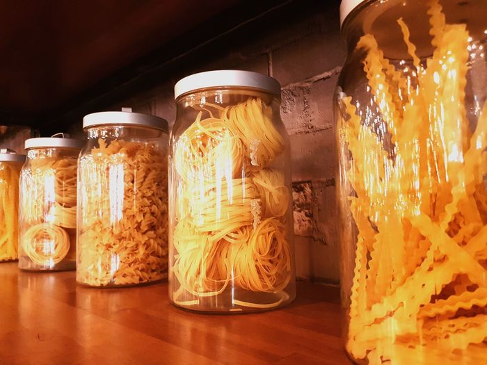good optimization Capellini Vermicelli Al Dente Fettuccine Tagliatelles Pappardelle Fusilli Pasta Bottle EyeEm Selects Jar Close-up Food And Drink Airtight Assortment Ingredient Preserved Dried Food Various Shelves For Sale EyeEmNewHere