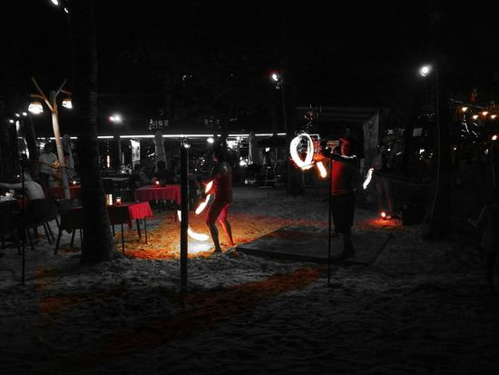 Fire Dance Outdoors Beach BoracayIsland Night