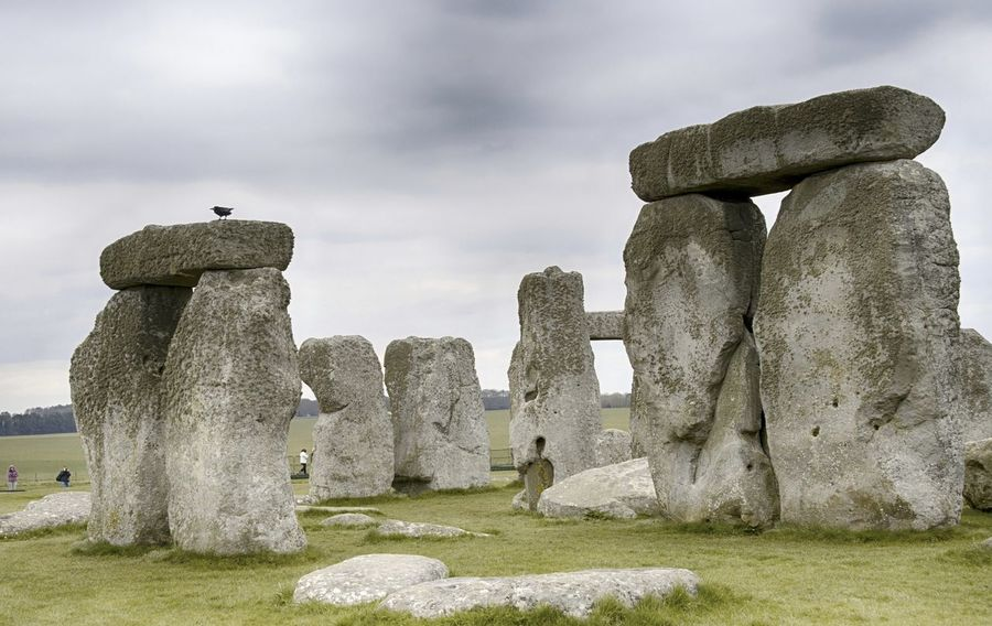 Stonehenge Memorial Ancient Ancient Civilization Day History Low Angle View Nature No People Outdoors Sky Stonehenge Travel Destinations