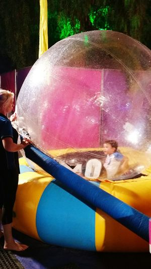 The Places I've Been Today Fringe Festival Bubble Boy Maxamry EyeEm Kids Water Ball