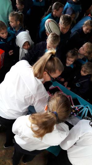 EyeEm Selects People Day Outdoors Business Business Woman Entrepreneurs School Children Schoollife