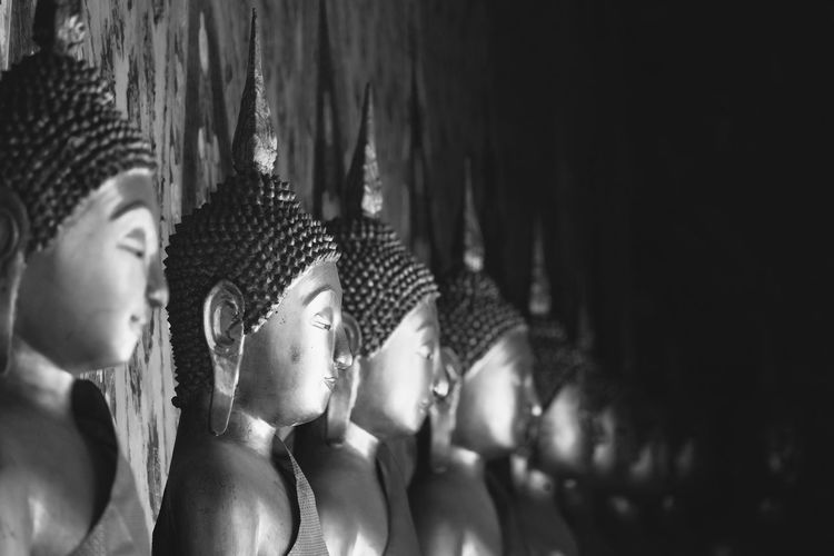 Bangkok Buddha Head Buddha Image Buddha Statue Indoors  Thai Temple Thailand Thailand_allshots
