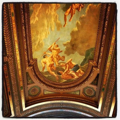 Stunning ceiling at the New York Public Library. #nyc #library NYC Art Tourist Library Newyork Newyorkcity Nycpublicibrary