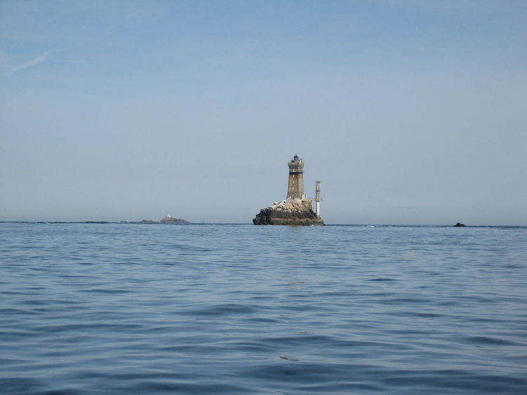 Beacon Bretagne Bretagne Coast Bretagne Shore Brittany, France Coastline Architecture Beauty In Nature Building Exterior Built Structure Clear Sky Horizon Over Water Lighthouse Lighthouse On A Cliff No People On The Shore Outdoors Rippled Water Scenics Sea Stone - Object Tranquil Scene Tranquility Waterfront Waves, Ocean, Nature