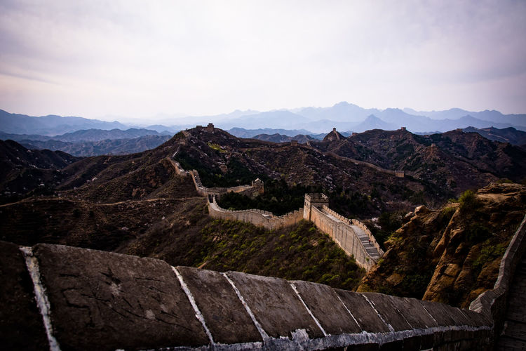 Ancient Ancient History Architecture Beauty In Nature Beauty In Nature China Day Eye4photography  EyeEm Nature Lover Great Wall Of China History Landscape Landscape_Collection Mountain Nature No People Outdoor Outdoor Photography Outdoors Scenics Sky Tourism Travel Destinations
