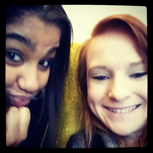 in theater with this girll lol thos is going to be a fun class