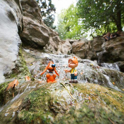 Boule Et Bill Cascade Parc Des Buttes-Chaumont
