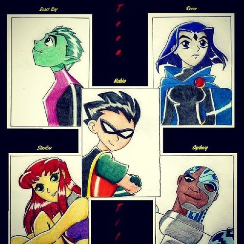 Another great cancelled show damn you cartoon network Teentitans