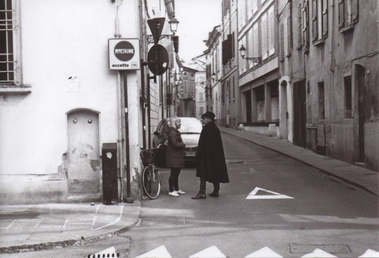 Going through the city centerStreet Real People Outdoors Adults Only People Men Women Day Streetphotography Filmphotography Italia