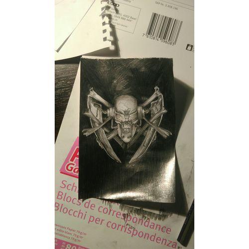 Art Drawing Graphic Megadeth Rattlehead