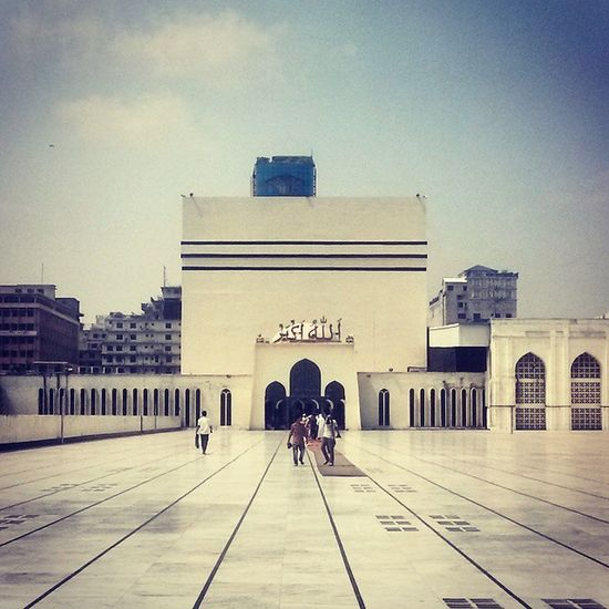 Baytulmukarram Mosque Nationalmosque Nationalmosqueofbangladesh Dhaka Bangladesh ... AllahuAkbar ...