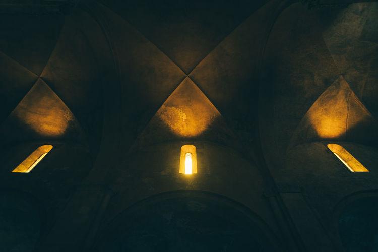 Place Of Worship Illuminated Religion Close-up Architecture