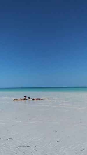 Beach Paradise Holbox Island Sand Family❤ Sea Blue Nature