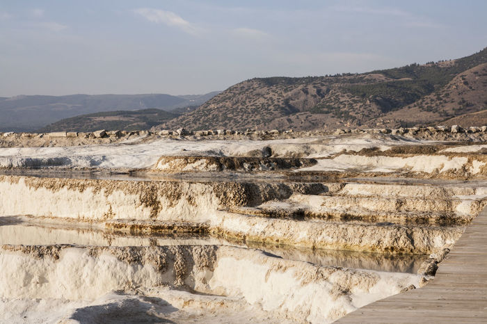 Beauty In Nature Day Fossil Landscape Mountain Nature Nature No People Outdoors Salt - Mineral Salt Basin