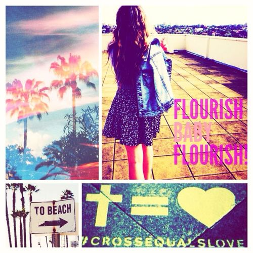 Late night inspiration. Flourish Baby Flourish Cross Equals Love Beach This Way