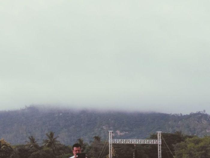 Fog Outdoors Nature Yoga Day Mysore ❤ Proud Mysorian