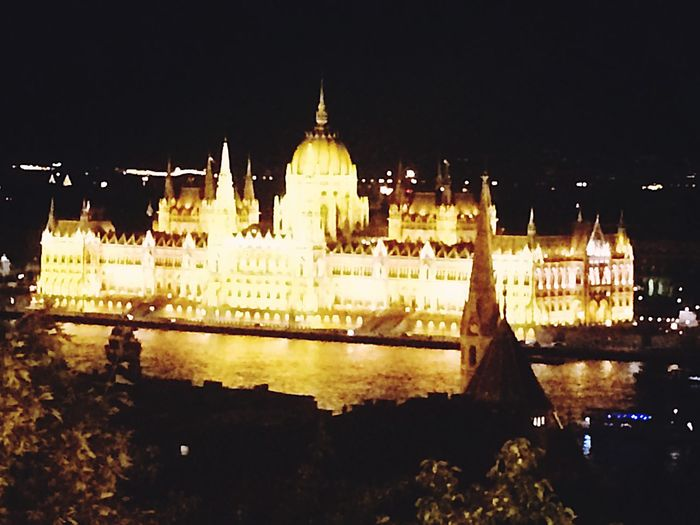 The Parliament Budapest Nightphotography Iconic Architecture