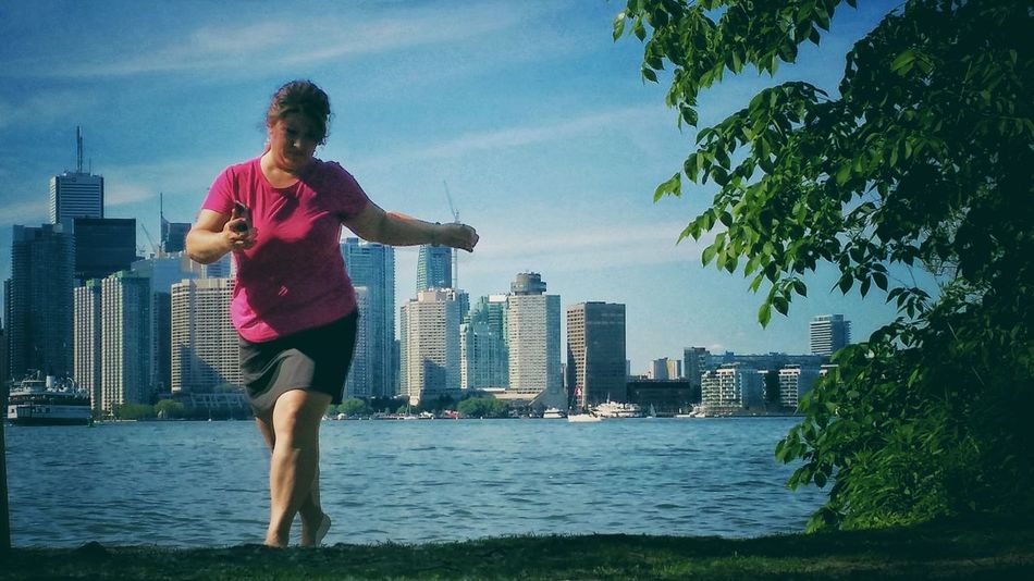 Toronto Skyline Dance Happy Date First Eyeem Photo