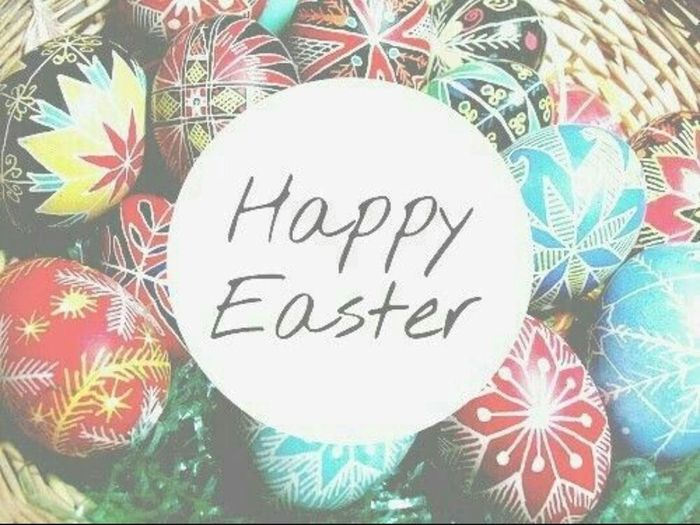 Happy Easter 😚