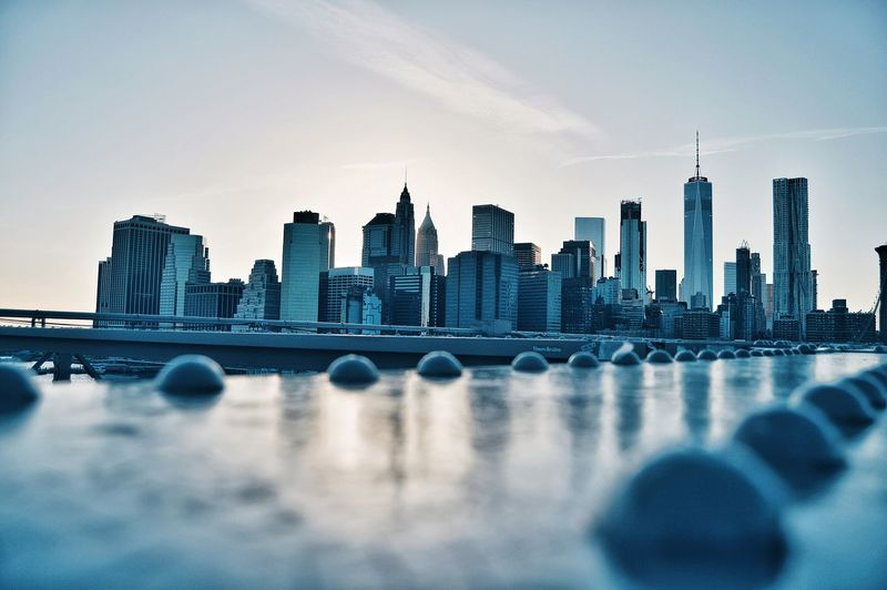 Urban Skyline Skyscraper Cityscape Architecture City Modern Bridge - Man Made Structure Built Structure Outdoors The Street Photographer - 2017 EyeEm Awards The Architect - 2017 EyeEm Awards The Great Outdoors - 2017 EyeEm Awards Blur New York Shadow Light New York City Manhattan Tower Brooklyn Cool City View  Sky Building Exterior Live For The Story