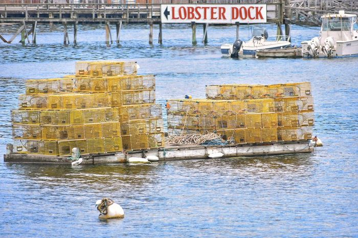 Water Harbor Harbor View Lobster Traps Sign Lobster Floating On Water Floating In Water East Coast Boothbay Harbor Maine Dock Boat Mainethewaylifeshouldbe