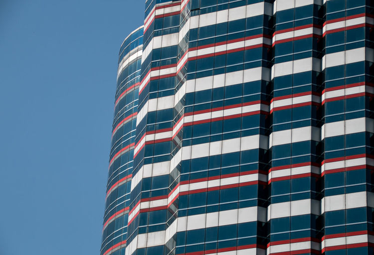 Backgrounds Background Background Texture Background Photography Blue Sky Blue Architecture Architectural Column Low Angle View Building Exterior Built Structure No People Sky Building Day City Office Outdoors Modern Pattern Office Building Exterior Skyscraper Vietnam Hanoi Building Story