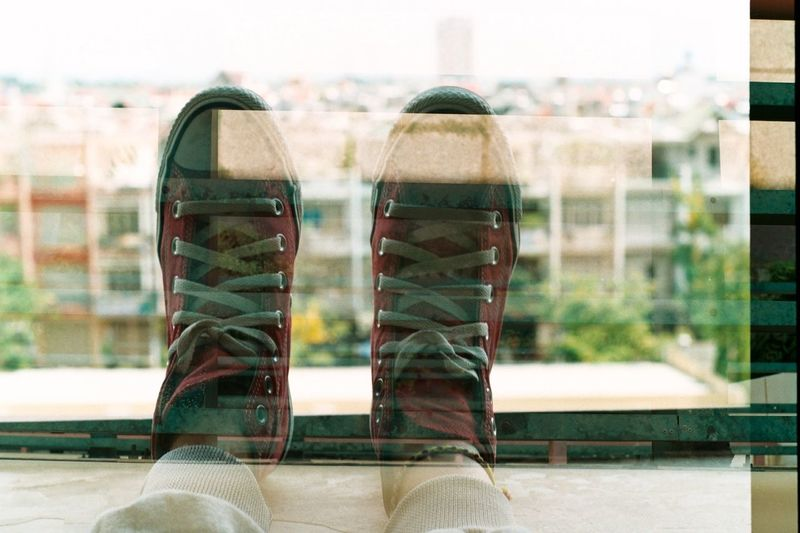 "Chồng film :""> Hello World Enjoying Life Film I Love Converse"