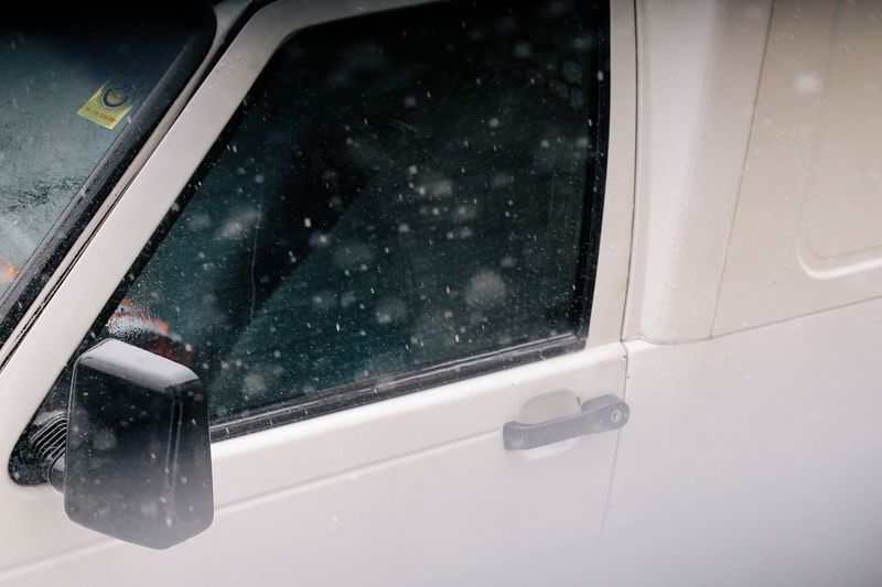 Rainy days Rainy Days Rainy Rain Transportation Mode Of Transport Land Vehicle Snow Windshield No People Winter Cold Temperature Close-up Car Door Looking Through Window Wet Outdoors Car Interior