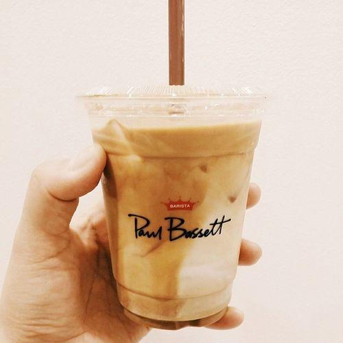 0619 고털카페 신세계백화점 폴바셋 paulbassett 카페라떼 latte 맛스타그램 먹스타그램