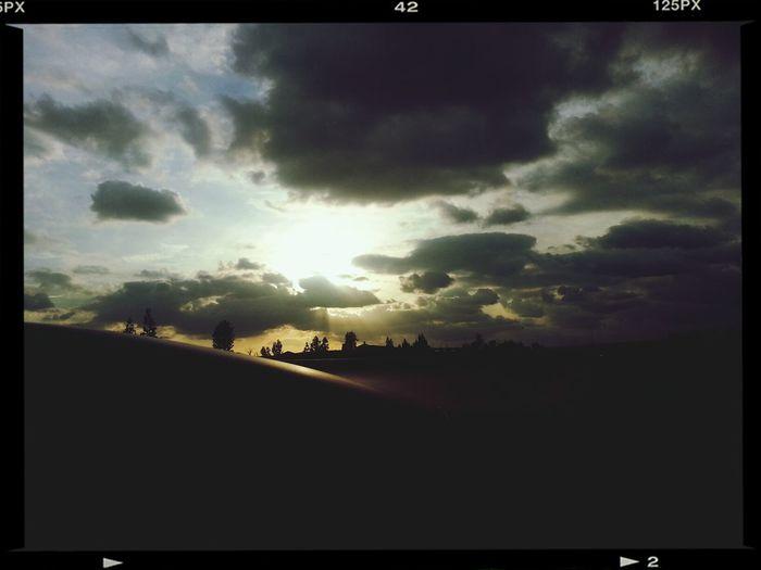 Beautiful sky today♥