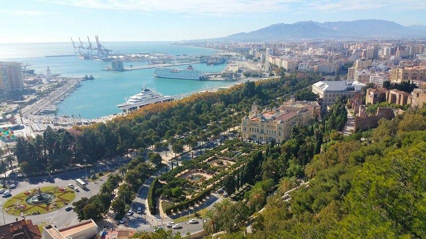 View Views Viewpoint Viewpoints Port Malaga Malaga Spain Malaga Puerto Malagaport Battle Of The Cities Finding New Frontiers Your Ticket To Europe