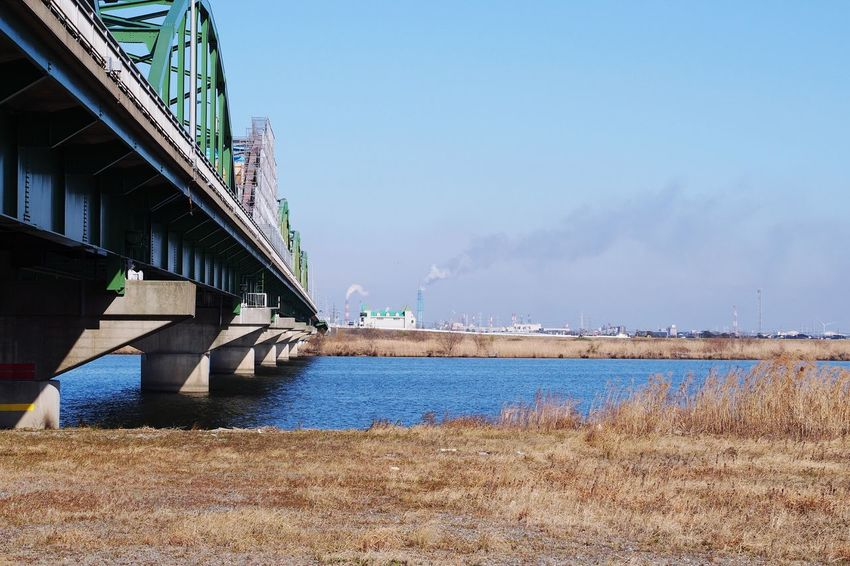 Bridge - Man Made Structure M4/3  Water Outdoors Sky Day Built Structure Architecture No People