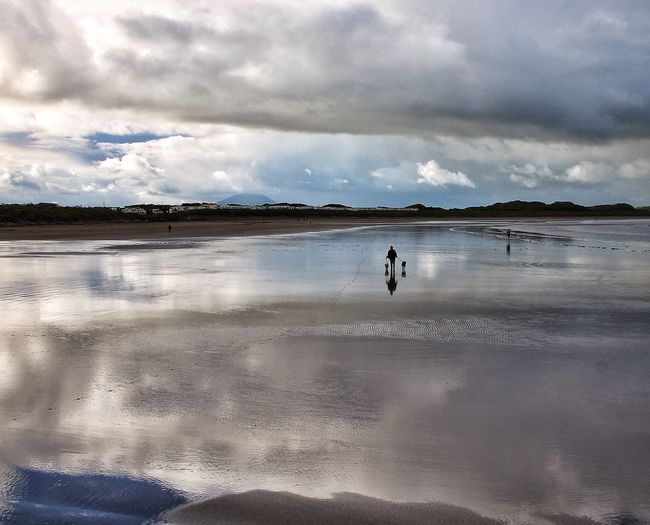 Enniscrone, Co Sligo. Ireland. The swallows are gone, Holiday homes deserted; Left with memories. EyeEm Best Shots - Landscape Darkness And Light Tadaa Community