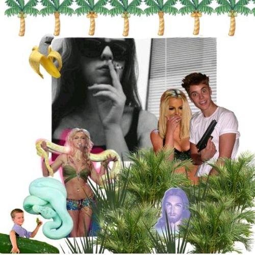 vcera som mala narodky jejjj Cybrfm Seapunk Britney Spears Justin Bieber