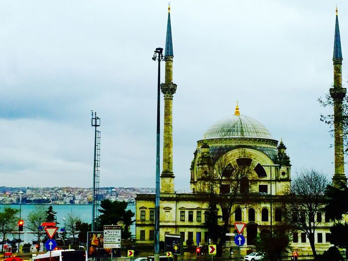 Beautiful Day Hello World Popular Photos EyeEm Best Shots Taking Photos Relaxing Mosque Istanbul Turkey Sky Collection