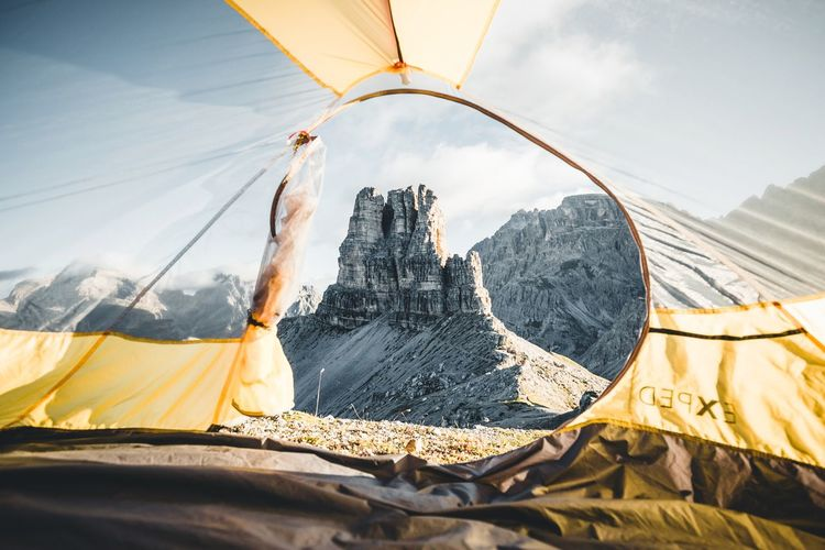 Favorite wake up view. Nature Sunlight Mountain Day Sky Scenics - Nature Landscape Land Beauty In Nature Outdoors Environment Tent Travel Destinations Mountain Range Travel Desert Adventure Leisure Activity Remote Arid Climate