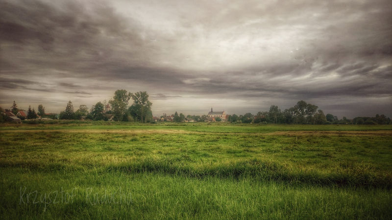 Poland Poland Is Beautiful Beauty In Nature Field Grass Green Color History Landscape Nature Rural Scene Scenics Smartphone Photography Smartphonephotography Storm Cloud Tranquil Scene Tranquility Tree Weather