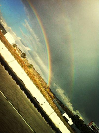Double rainbow!:)