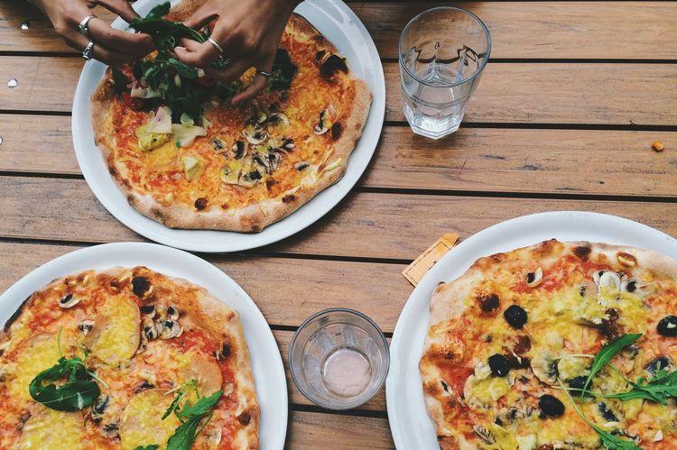 On Wednesdays we eat pizza. Food Vegetarian Vegan Dinner Eating Yummy Eat Eat And Eat Pizza