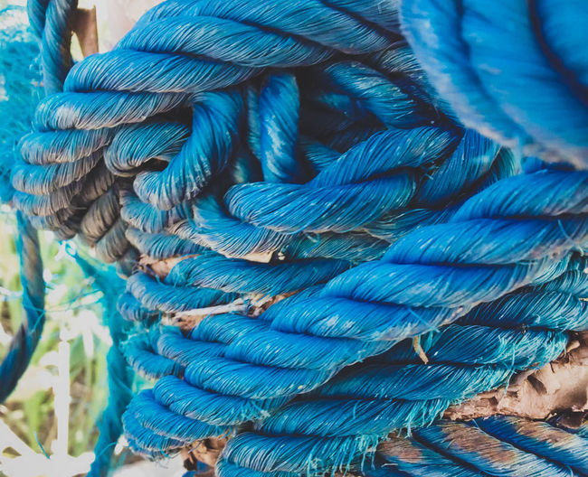 Blue Close-up Day EyeEm Best Shots New Eyeem No People Outdoors Rope
