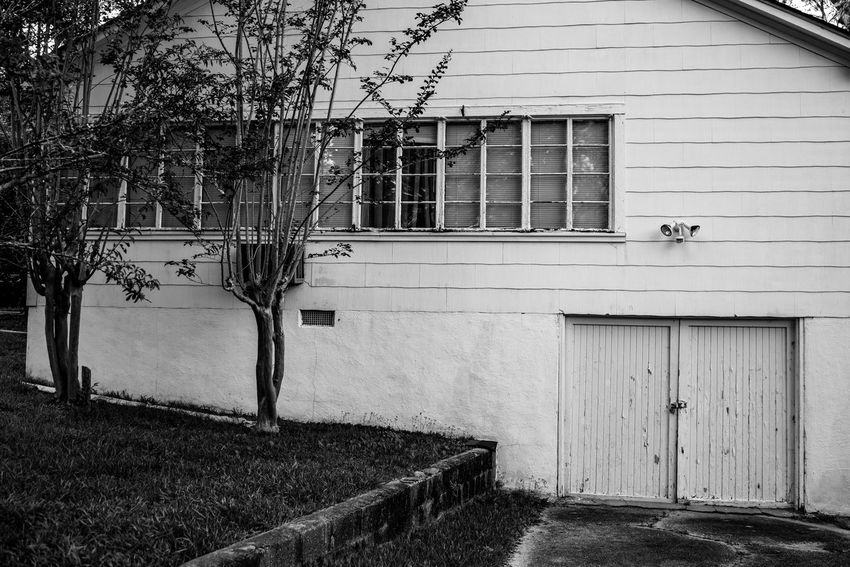 Architecture Backyard Blackandwhite Photography Building Exterior Built Structure Day House Nikon D750 No People Outdoors Photographyisthemuse Small Town USA Tree