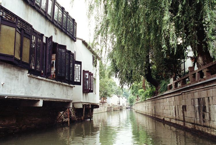 Chinese Venice City Canal Architecture Canal China No People Outdoors River Suzhou Suzhou, China Tree Water
