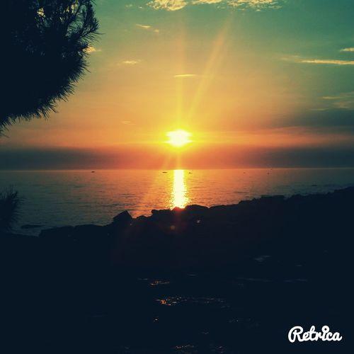 Throwback❤ Croatia ♡ Porec Sunset At The Sea <3 Sunny Day☀ Summer