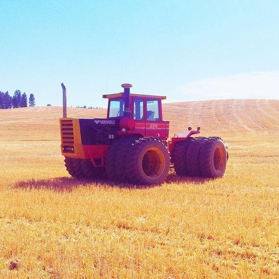 Harvest Idaho Potlatch Versatile Tractor Palouse  Summer