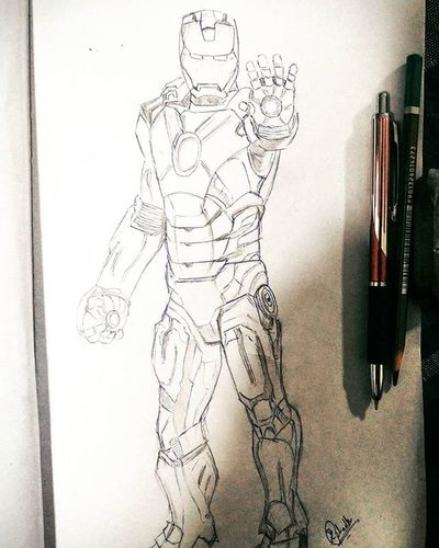 Ironman Civilwar Marvel RandomSketch