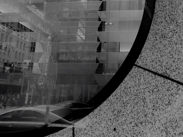 Window of Phantoms Glass - Material Architecture Reflection Built Structure Window City Modern B&w Day The Architect - 2017 EyeEm Awards