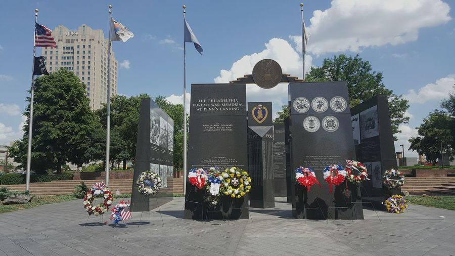 In memory of the B R A VE. Memorialday Memory Lostsouls Brave Bravery USA America Philadelphia Restinpeace Clouds Remember