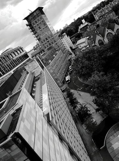 Day 29 - From the Facebook office London Blackandwhite POV 365project 365florianmski Day29
