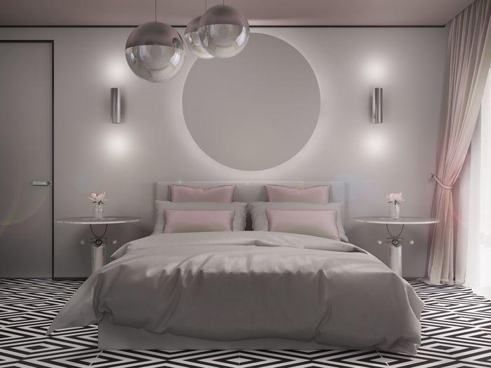 Subject стол Interior Design Relaxing дизайн 3d 3D Design Bedroom Bed Home Interior Enjoying Life Night