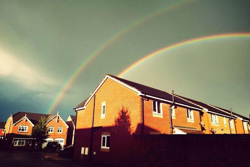 Double Rainbow England Lancashire
